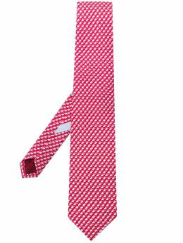 Salvatore Ferragamo галстук с принтом 722504