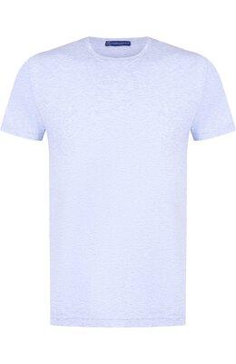 Хлопковая футболка с круглым вырезом Andrea Campagna DIVAN/17/1203