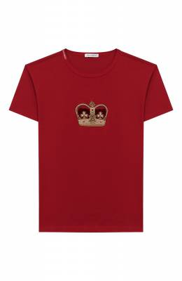 Хлопковая футболка Dolce&Gabbana L4JT6S/G7VJS/2-6