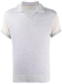 Maison Flaneur трикотажная рубашка-поло 20SMUSW454FC018
