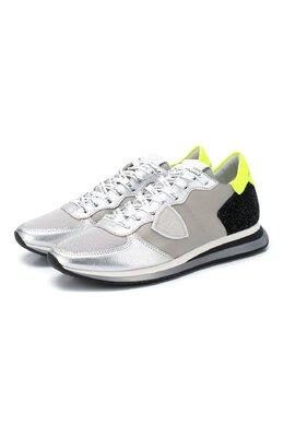 Текстильные кроссовки Philippe Model TZLD WQ02
