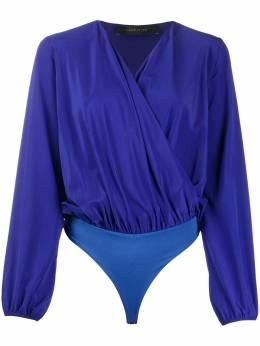 Federica Tosi блузка свободного кроя с запахом FTE20B00470SE0003