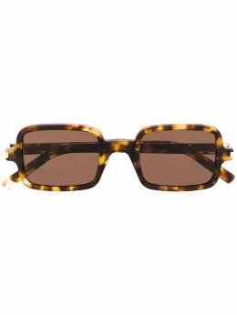 Saint Laurent Eyewear солнцезащитные очки в квадратной оправе SL332