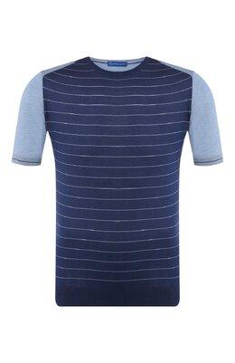 Шелковая футболка Andrea Campagna SU97102-SHD9