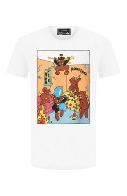 Хлопковая футболка Dom Rebel H0TEL/T-SHIRT