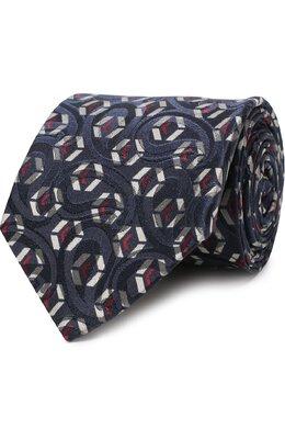 Шелковый галстук с узором Giorgio Armani 360054/8A801