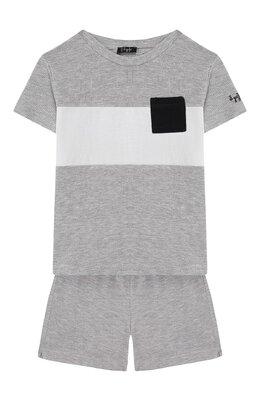 Комплект из футболки и шорт Il Gufo P20DP318M0095/24M