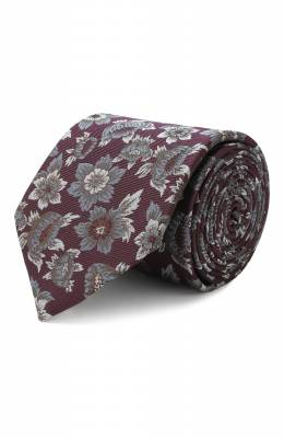 Шелковый галстук Eton A000 32041
