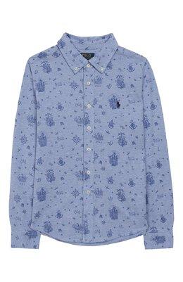 Хлопковая рубашка Polo Ralph Lauren 322765966