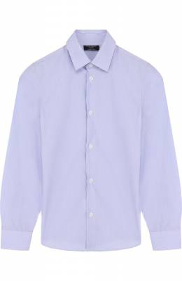 Хлопковая рубашка с воротником кент Dal Lago N402/7815/4-6
