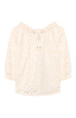 Хлопковая блузка Zimmermann 6416TKIR