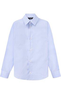 Хлопковая рубашка прямого кроя Dal Lago N402/7815/4-6