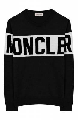 Шерстяной пуловер Moncler Enfant E2-954-90071-00-A9084/8-10A