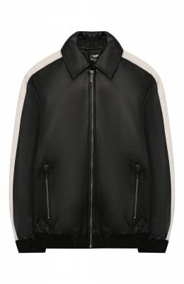 Кожаная куртка Karl Lagerfeld Kids Z26050/6A-12A