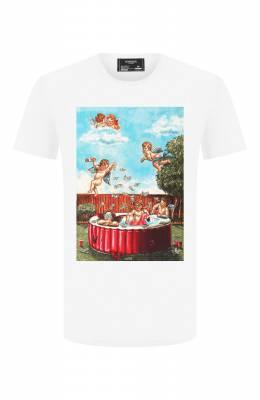 Хлопковая футболка Dom Rebel P00L/T-SHIRT