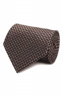 Шелковый галстук Brioni 062H00/08452