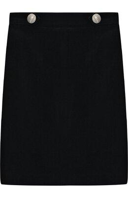 Бархатная юбка с декором Caf 53-VL/6A-8A