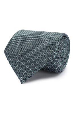 Шелковый галстук Brioni 062H00/P8459