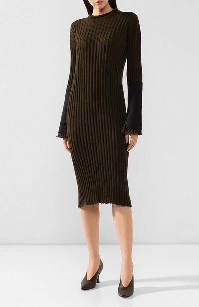 Кашемировое платье Bottega Veneta 571063/VKBB1 - 3