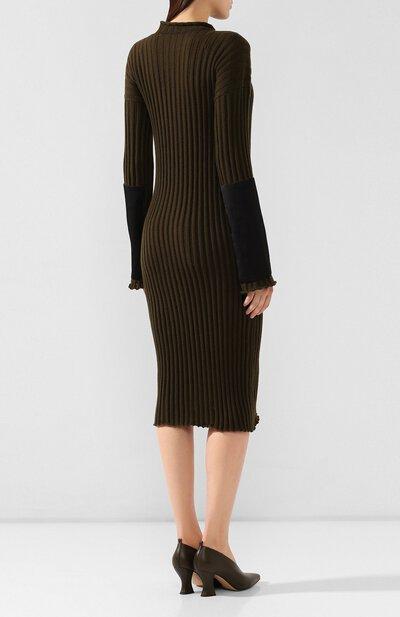 Кашемировое платье Bottega Veneta 571063/VKBB1 - 4