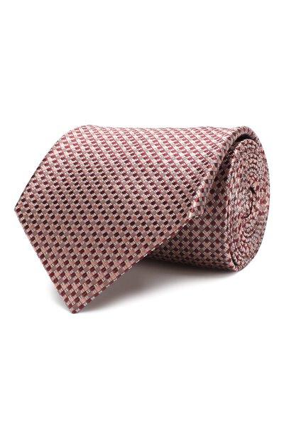 Шелковый галстук Brioni 062I00/P841P - 1