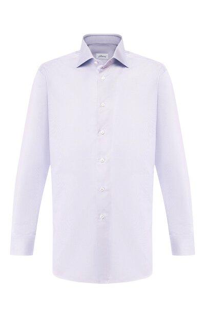 Хлопковая сорочка Brioni RCLU1U/0805A - 1