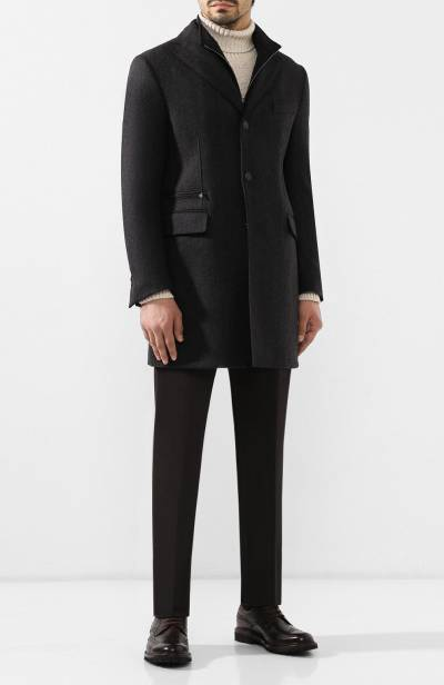 Шерстяное пальто Corneliani 841584-9813019/00 - 2