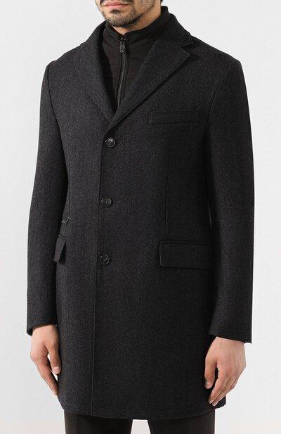 Шерстяное пальто Corneliani 841584-9813019/00 - 3