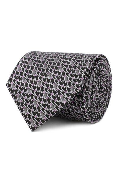 Шелковый галстук Zilli 50236/TIES - 1