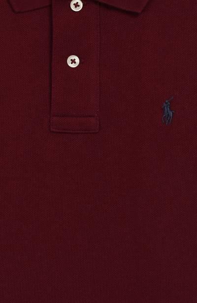 Хлопковое поло Polo Ralph Lauren 322703632 - 3