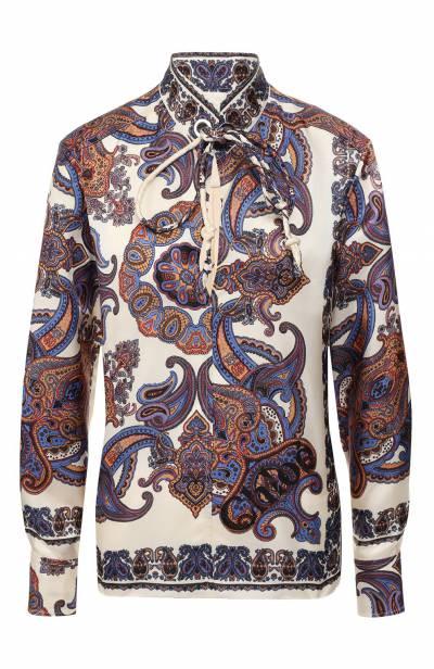 Блузка с принтом Chloe CHC19UHT94330 - 1