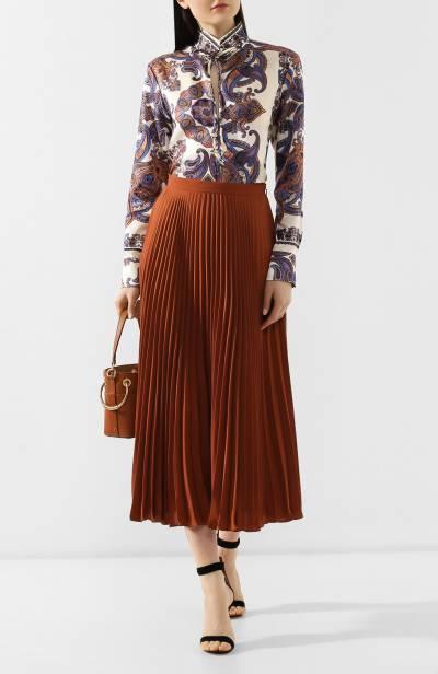 Блузка с принтом Chloe CHC19UHT94330 - 2