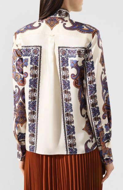 Блузка с принтом Chloe CHC19UHT94330 - 4