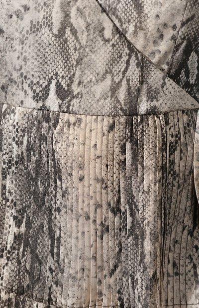 Платье с принтом Wandering WGW19413 - 5
