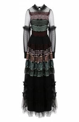 Платье-макси Wandering WGW19509
