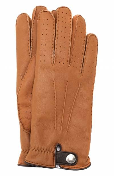 Кожаные перчатки Brunello Cucinelli MPMGN3608 - 1