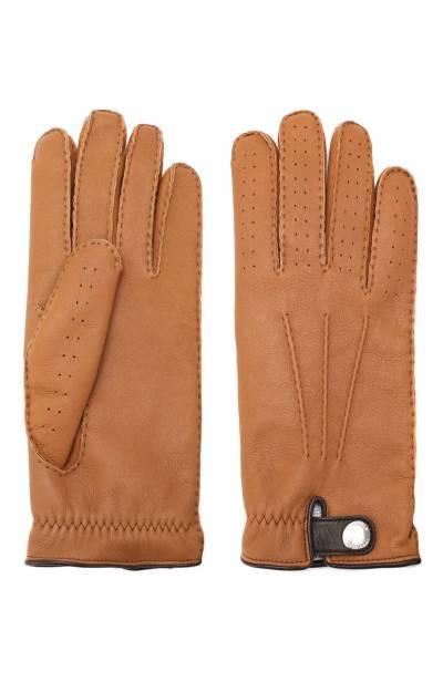 Кожаные перчатки Brunello Cucinelli MPMGN3608 - 2