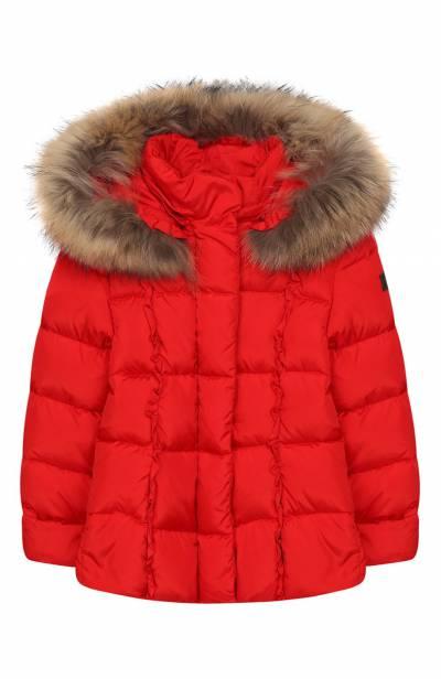 Пуховая куртка с капюшоном Il Gufo A19GM308N0031/2A-4A - 1