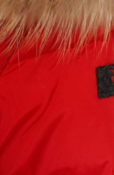 Пуховая куртка с капюшоном Il Gufo A19GM308N0031/2A-4A - 3