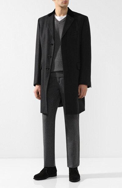 Кашемировый пуловер тонкой вязки Brunello Cucinelli M2200162 - 2