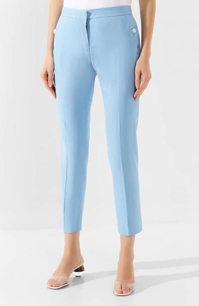 Льняные брюки Rag&Bone W29471635 - 3