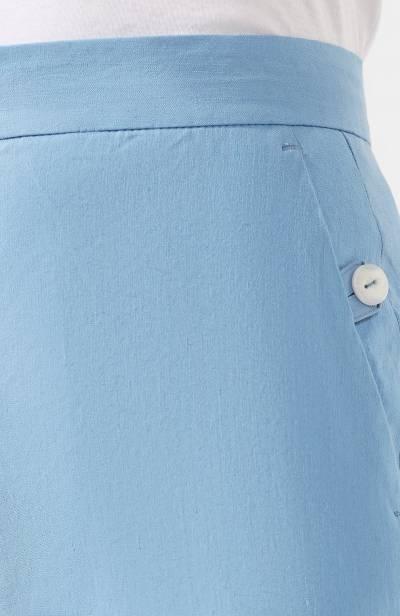 Льняные брюки Rag&Bone W29471635 - 5