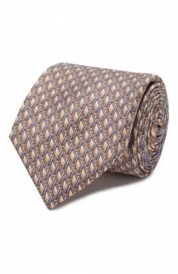 Шелковый галстук Zilli 50224/TIES