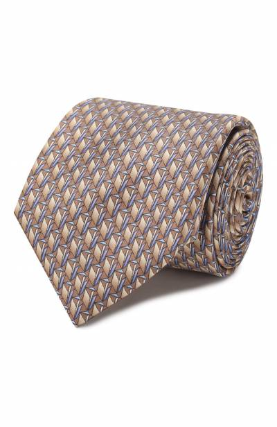 Шелковый галстук Zilli 50224/TIES - 1