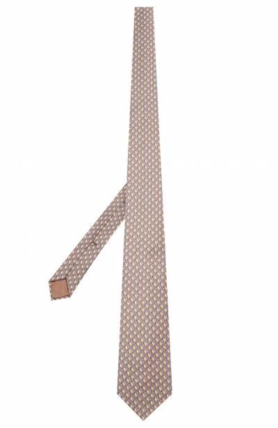 Шелковый галстук Zilli 50224/TIES - 2
