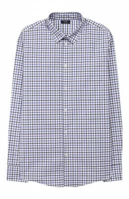 Хлопковая рубашка Dal Lago N402QM/8710/17/L-18/XL
