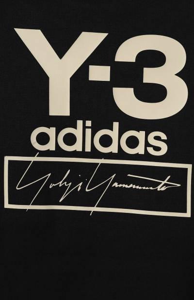 Хлопковая футболка Y-3 FJ0292/W - 5