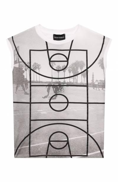 Комплект из футболки и шорт Emporio Armani 3H4VJC/4J09Z - 2