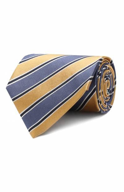 Шелковый галстук Ermenegildo Zegna Z5D11/1XW - 1