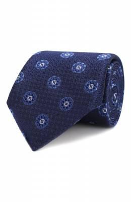 Шелковый галстук Canali 18/HJ02038